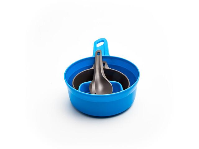 Wildo Adventurer Kit Kit Ustensiles de cuisine, light blue/dark grey